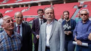 Spor Genel Müdürü Mehmet Baykan Samsun'da