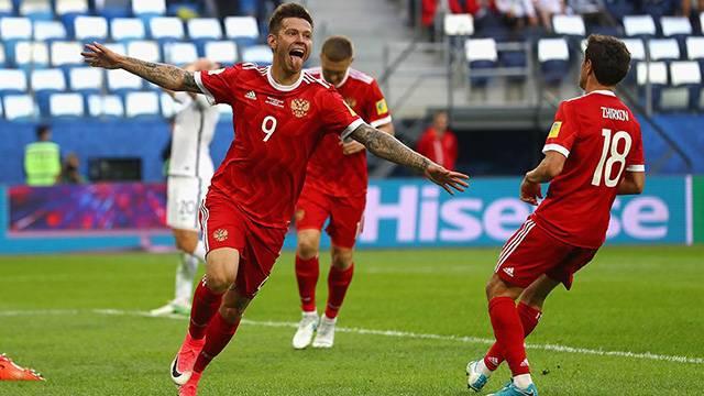 Yeni Zelanda 0 - 2 Rusya
