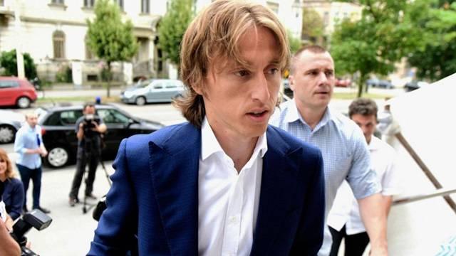 Luka Modric Hırvatistan'a gözaltına alındı