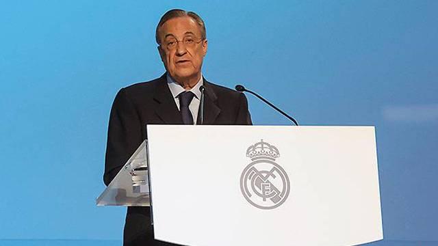 Real Madrid'de Florentino Perez 5. kez başkan
