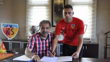 Dejan Meleg, Kayserispor'a imza attı