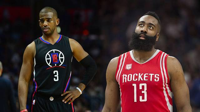 NBA'de dev takas: Chris Paul ve James Harden Houston Rockets'ta buluşuyor