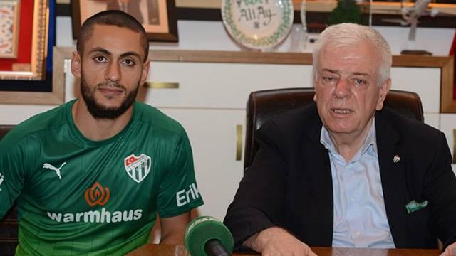 Bursaspor Barış Yardımcı ile 3 yıllık sözleşme imzaladı