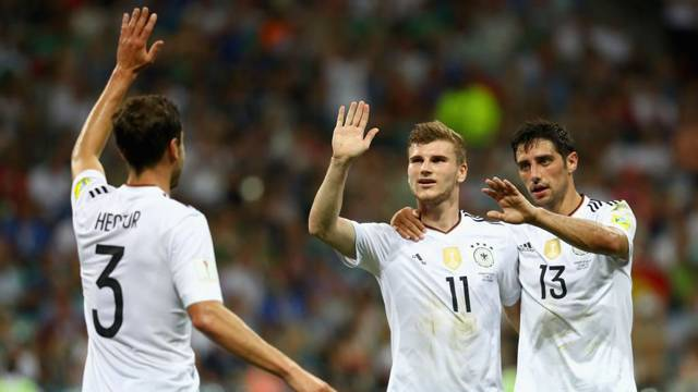 Şili 0 - 1 Almanya