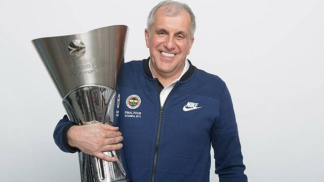 Obradovic Euroleague'de yılın antrenörü seçildi