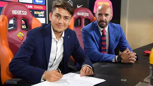 Cengiz Ünder Roma ile 5 yıllık sözleşme imzaladı