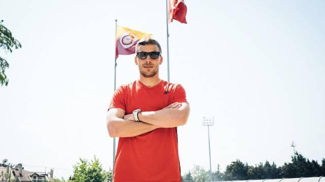 Podolski'den Galatasaray mesajı!