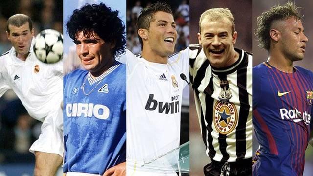 Futbol tarihinin rekor kıran transferleri