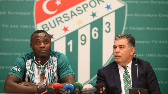 Bursaspor, Delarge ile sözleşme imzaladı