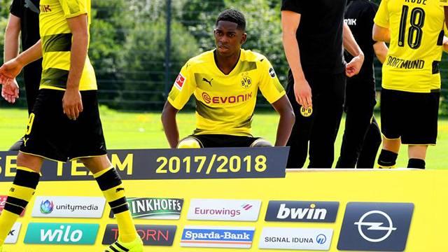 Borussia Dortmund Ousmane Dembele'yi süresiz kadro dışı bıraktığını açıkladı