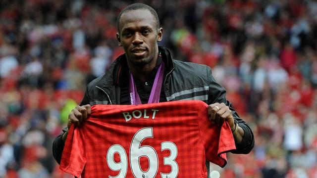 Usain Bolt, Manchester forması giyecek