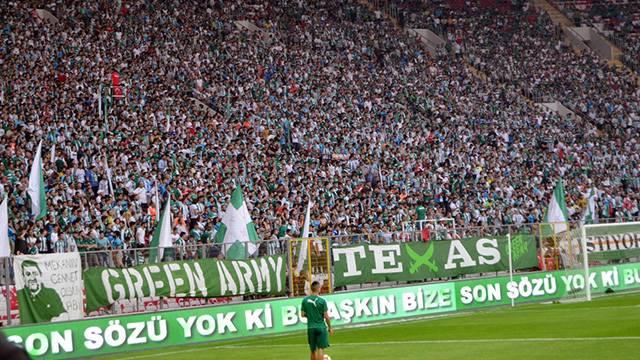 Bursaspor taraftarı Beşiktaş deplasmanına alınmayacak