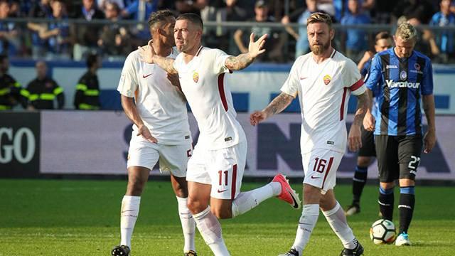 Atalanta 0 - 1 Roma