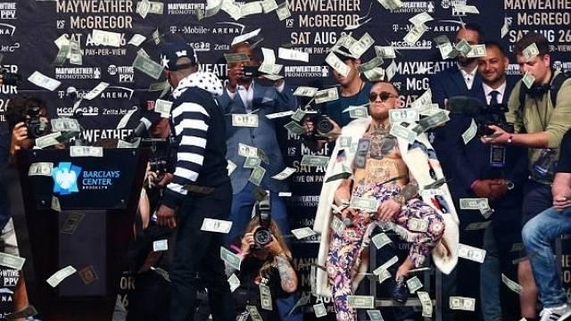 Mayweather-McGregor maçı bahis rekoru kırdı