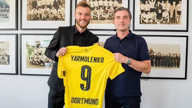 Dortmund Dembele'nin boşluğunu Yarmolenko ile doldurdu