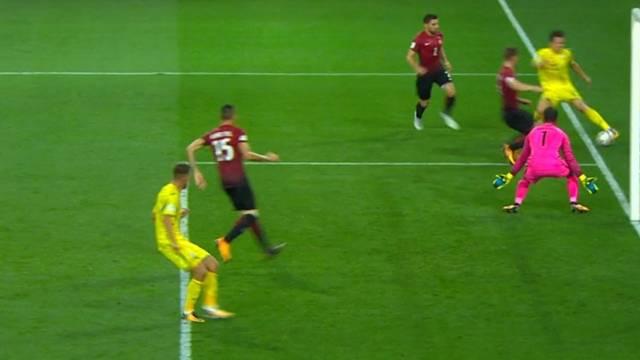 Ukrayna-Türkiye maçında hakem skandalı