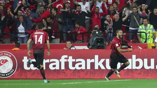 A Milli Takım Hırvatistan'ı 1-0 mağlup etti