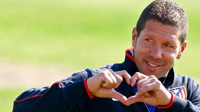 Atletico Madrid Simeone'nin sözleşmesini 2020 yılına kadar uzattı