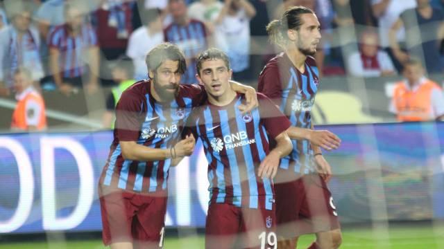 Trabzonspor'da Abdülkadir Ömür maça damga vurdu