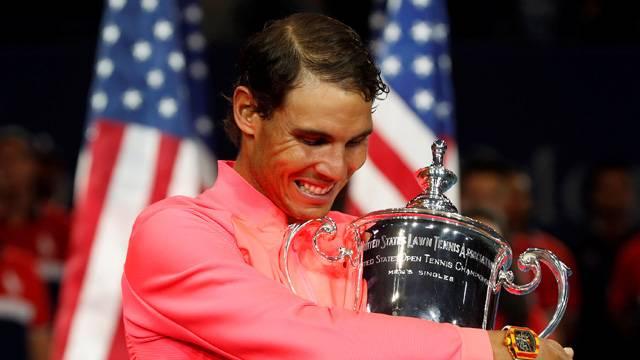 ABD Açık'ta Rafael Nadal şampiyon