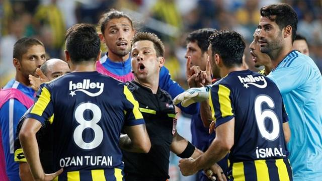 Fenerbahçe Başakşehir maçındaki olaylar nedeniyle PFDK'ya sevk edildi