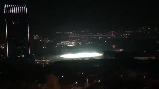 Quaresma'nın Konyaspor'a attığı golün coşkusu stat dışından duyuldu