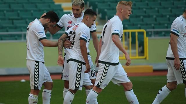Atiker Konyaspor 2 - 0 Teleset Mobilya Akhisar Belediyespor