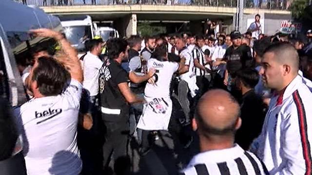 Fenerbahçe-Beşiktaş derbisi öncesi gerginlik