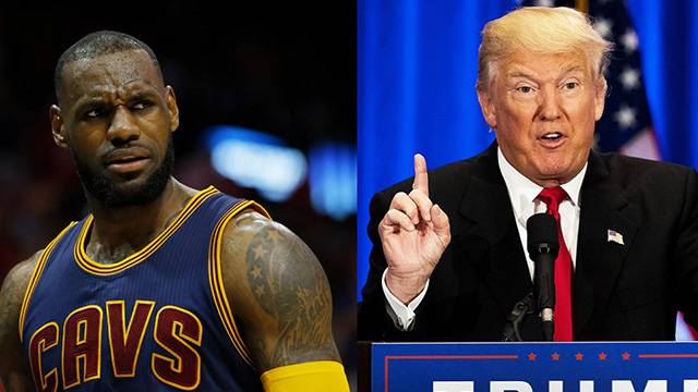 LeBron James Donald Trump'a 'serseri' dedi!
