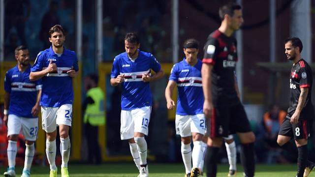 Sampdoria 2 - 0 Milan