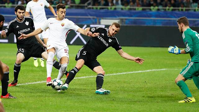 Karabağ 1 - 2 Roma