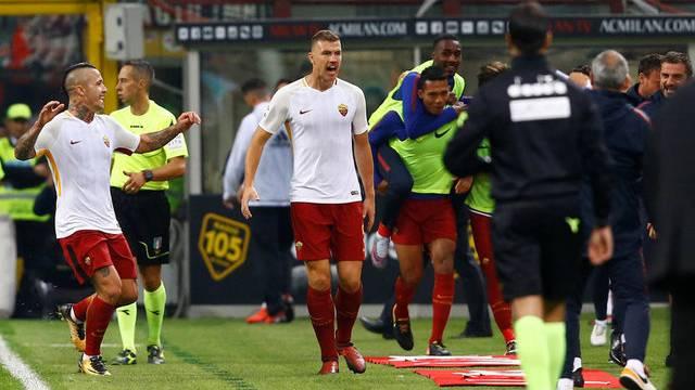 Milan 0 - 2 Roma
