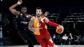 Galatasaray Odeabank 82 - 58 Gaziantep Basketbol