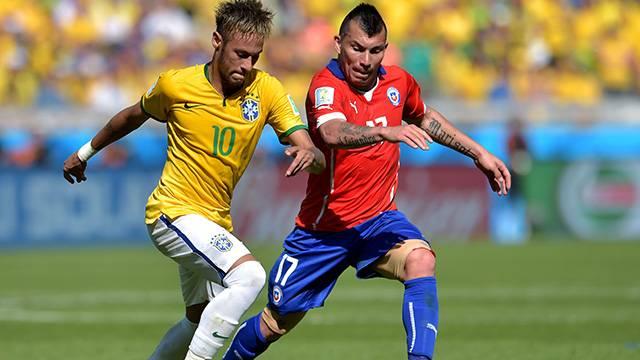 Gary Medel Neymar'ın annesine küfür etti