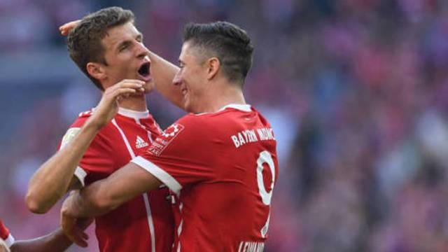Bayern Münih 5 - 0 Freiburg