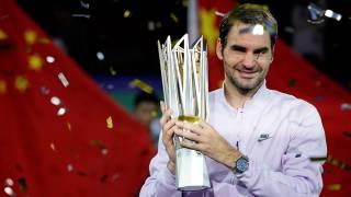 Şanghay'da şampiyon Federer