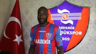 Karabükspor'da Yatabare 3 hafta yok!