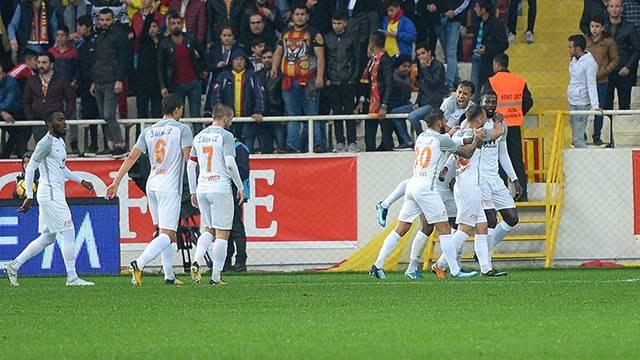 Evkur Yeni Malatyaspor 0 - 2 Medipol Başakşehir