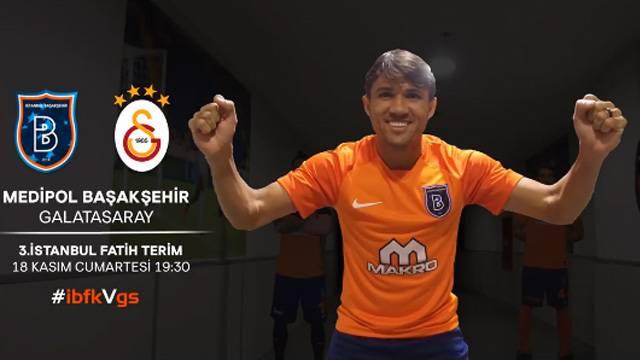 Başakşehir'den Galatasaray paylaşımı