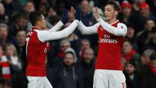 Arsenal 2 - 0 Tottenham