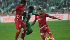 Atiker Konyaspor, Antalyaspor ile sahasında 1-1 berabere kaldı