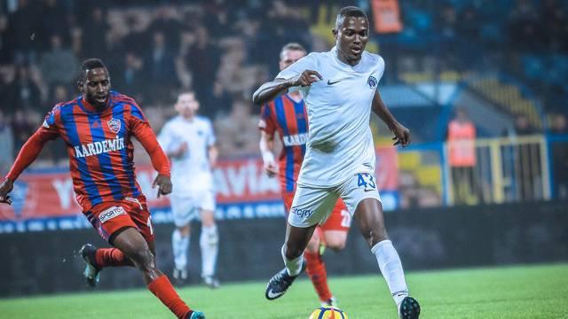 Karabükspor 0 - 2 Kasımpaşa