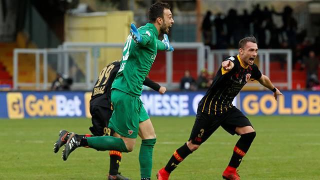 Benevento 2 - 2 Milan