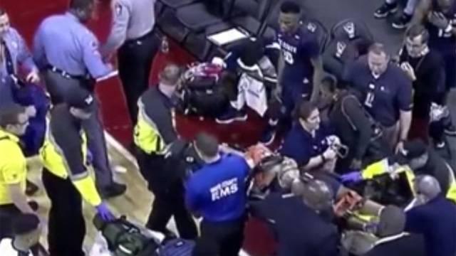 Ty Solomon'un maç sırasında kalbi durdu