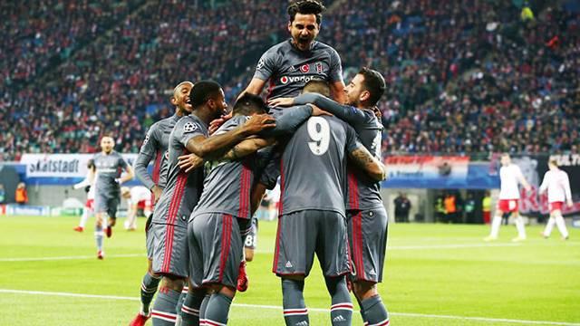 Alman basını, Beşiktaş'ın Leipzig galibiyetine geniş yer ayırdı