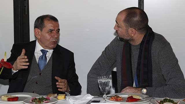 Galatasaray'da moral yemeği düzenlendi