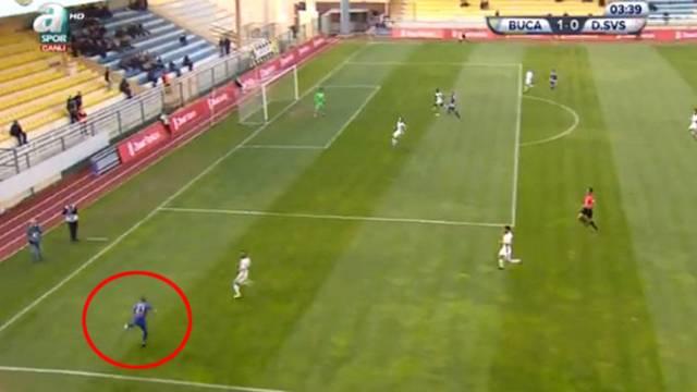 Abdullah Balıkuv'un golü dünyayı salladı!