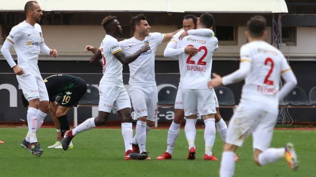 Akhisarspor 0-2 Kayserispor