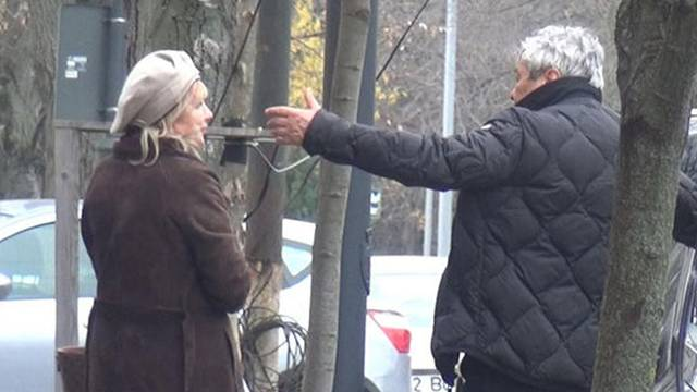 Lucescu eşiyle sokak ortasında kavga etti
