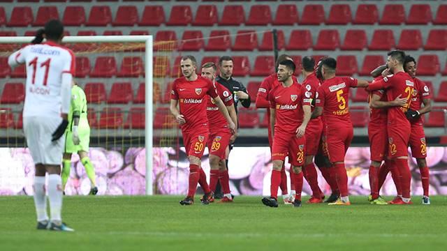 Kayserispor 3 - 1 Antalyaspor
